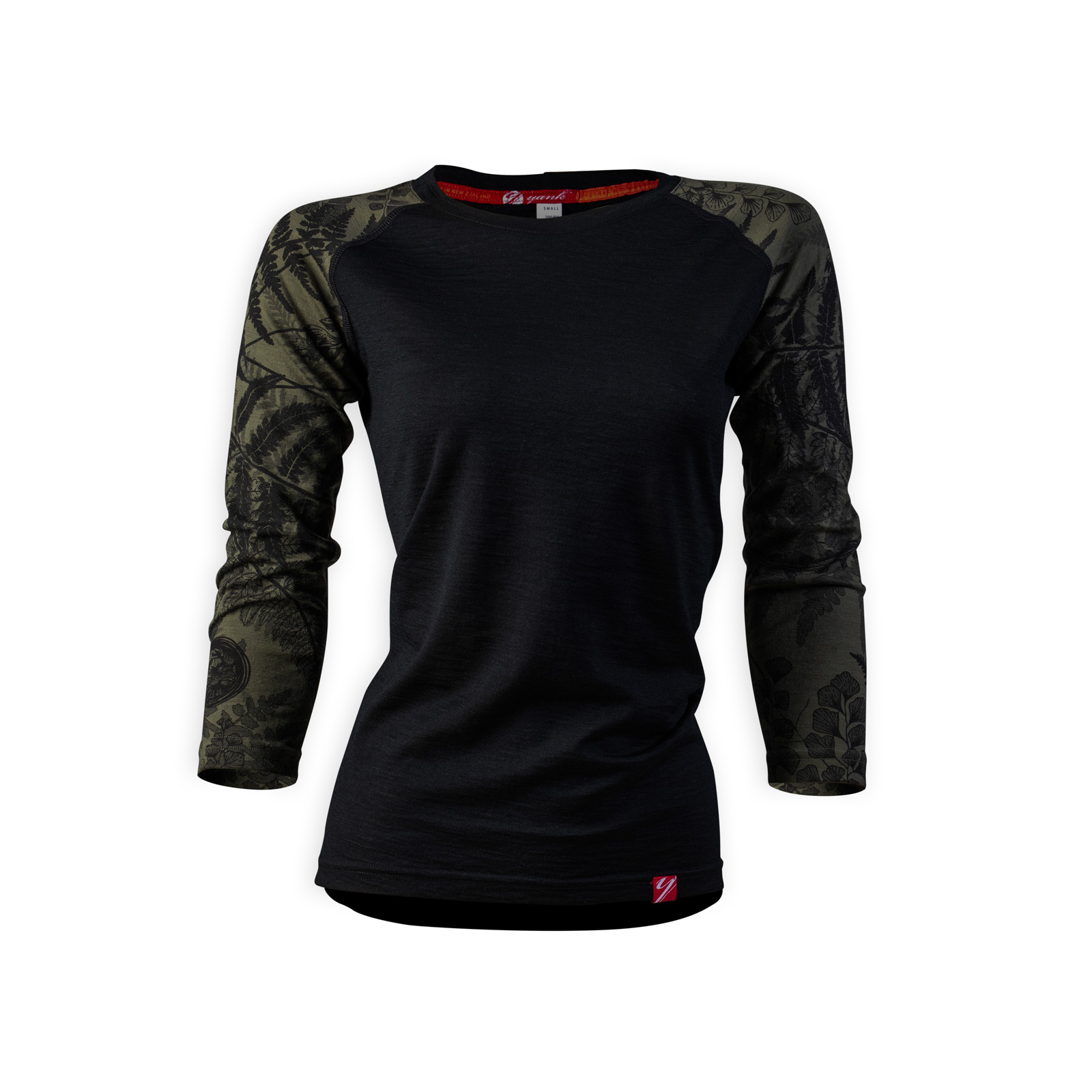 Women's Trace 3/4 Sleeve Merino Shirt | Flora Mud