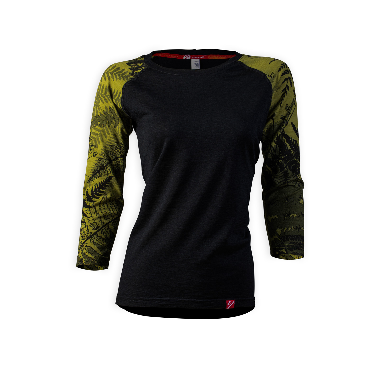Women's Trace 3/4 Sleeve Merino Shirt | Flora Moss
