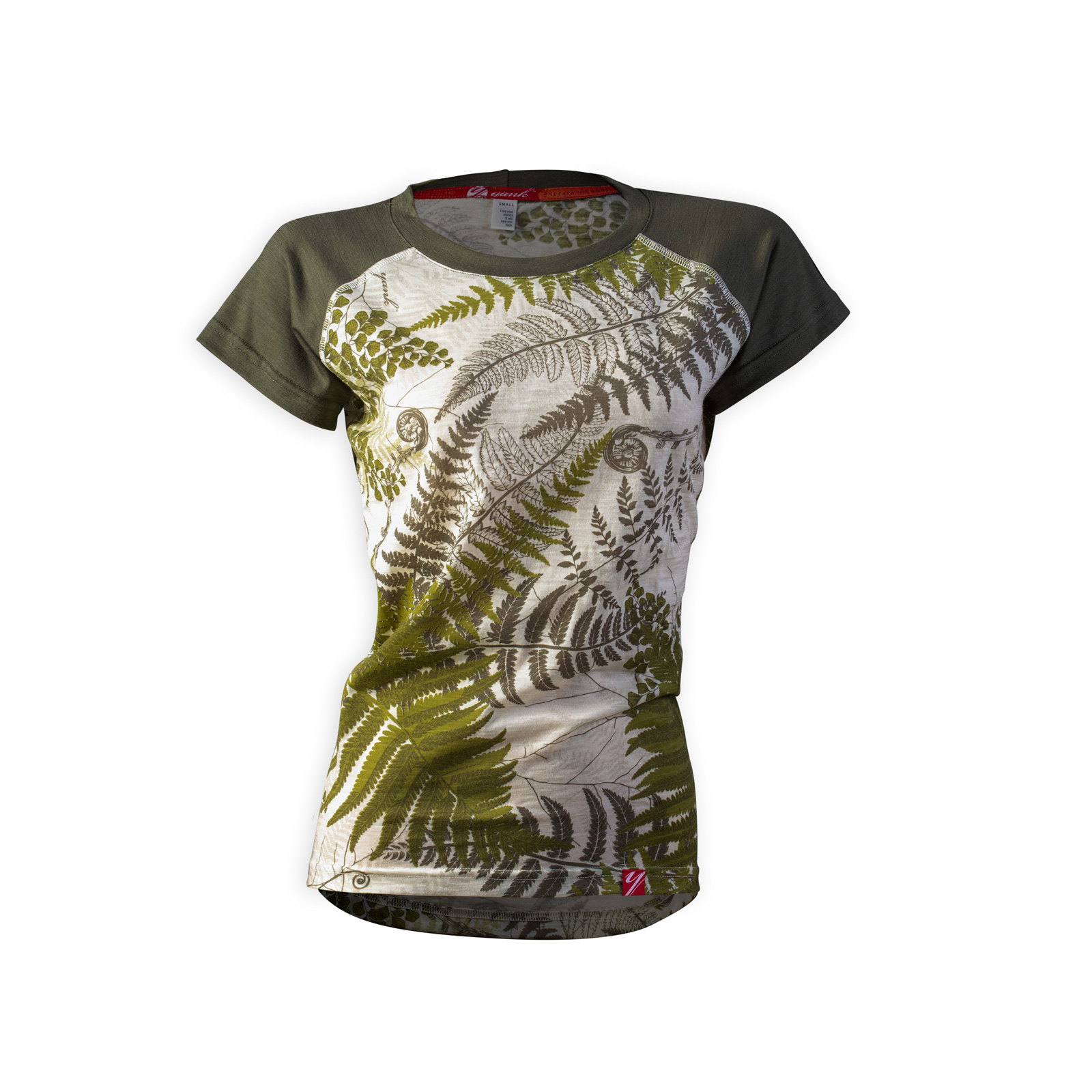 Women's Flora Short Sleeve Merino Shirt | Mud