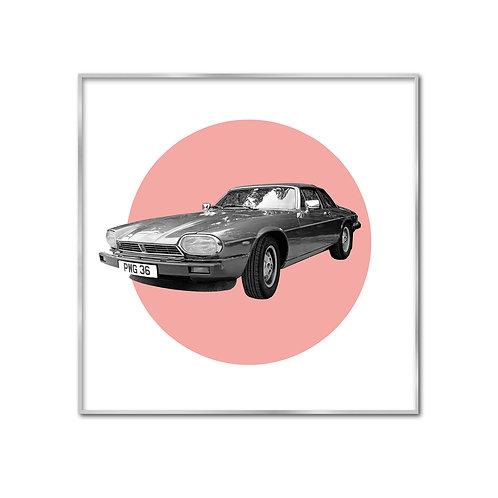 Jaguar XJS lachs