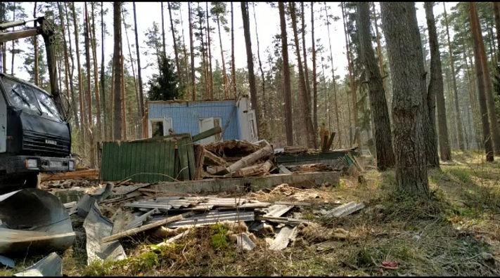 Снос дома / демонтаж зданий