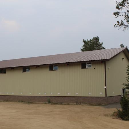 Side of Gymnasium