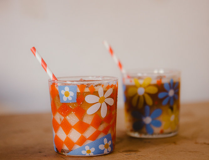 Andie and Sarah - set of two 370mL tumblers