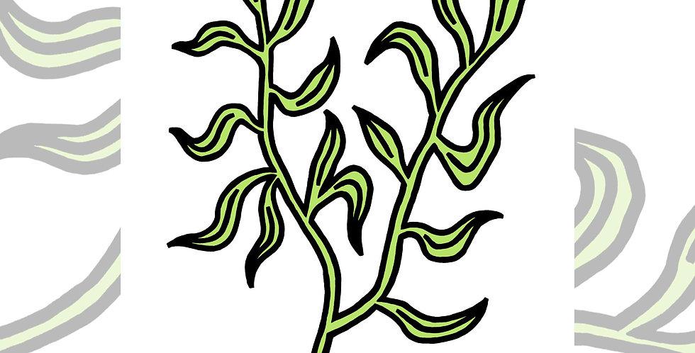 Leaf 2 - ART PRINT