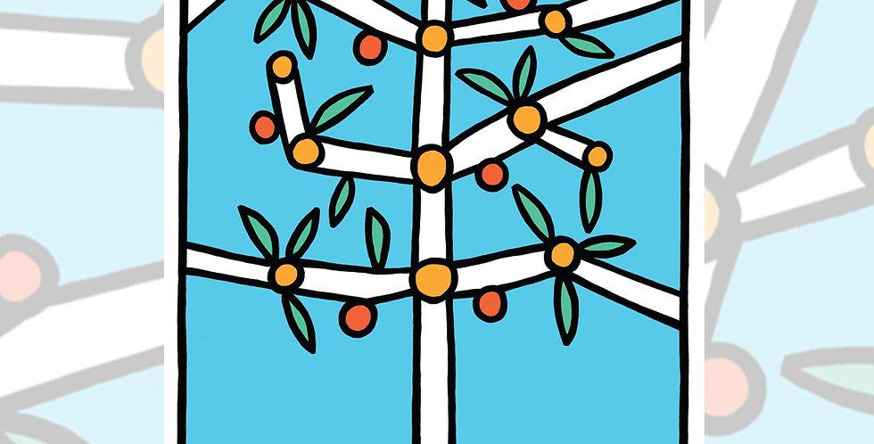 Orange Tree - ART PRINT