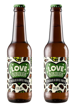 LOVE BOROUGH / BEAK BREWERY LABEL
