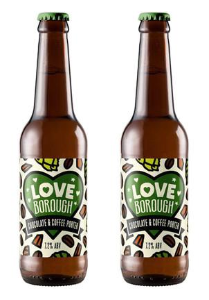 LOVE BOROUGH / BEAK BREWERY LABEL