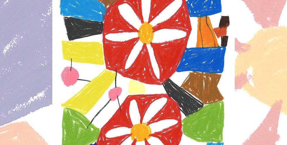 Flower Show 2 - ART PRINT