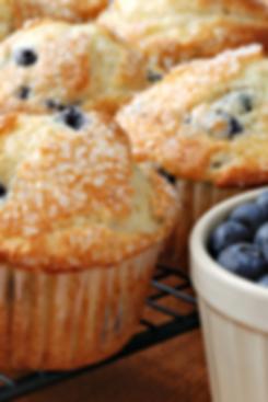 Frisch gebackener Muffins