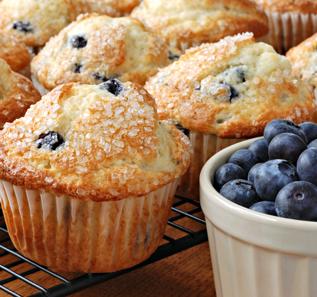 Love Apple Farm Freshly Baked Muffins