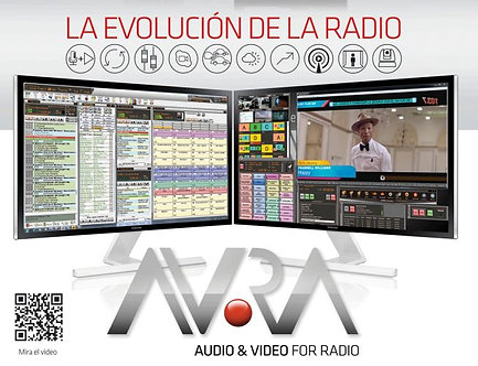 AVRA AIRE, Radio Visual. Multiencoders, Streaming, MediaHub, 6 HD, USB, 2xCDN