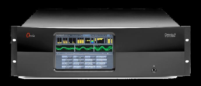 OMNIA 9 FM/AM, Procesador de Audio, 5 bandas, Generador Estéreo, AES/EBU, 3UR