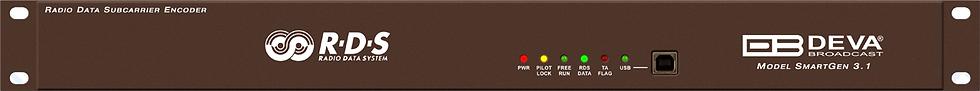DEVA SmartGen3.1, RDS/RBDS, USB, MPX, Loopthrough, Trim Pot, PS & Radio, 1UR