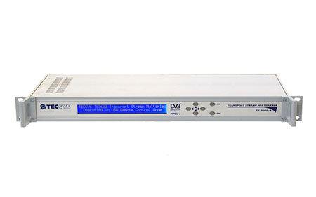 TECSYS TS9600-8, Multiplexor DVB, MPEG-2, 8 Entradas/2 Salidas ASI, USB-PC, 1UR