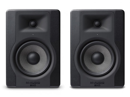 M-AUDIO  BX5 D3. Powered Studio Monitor PAR, 100W,XLR, 52-35kHz, Volumen Control