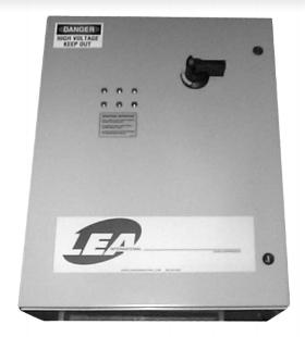 LEA DS1GS-220:250-3D, Supresor Transc. Trifásico Paralelo, 112.5kA, MOV, < 1nS