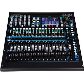 ALLEN&HEATH QU-16, Consola Mezcladora Digital, 16CH,17 Faders, Táctil, AES, USB