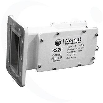 NORSAT 3220F, LNB PLL Banda C, 2ppm, 20K, Ganancia 62 dB, Banda L, F Hembra