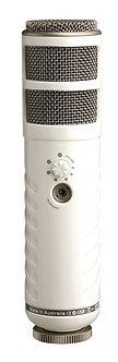 RODE Podcaster, Micrófono Dinámico Cardioide, 40Hz-14kHz, 115dB SPL, USB
