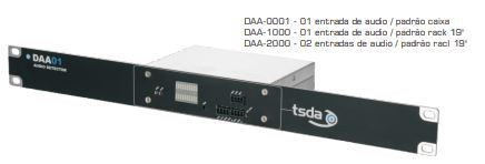 TSDA DAA-SERIES DETECTOR DE PRESENCIA DE AUDIO,SEÑALIZACIÓN LED,12Vdc,60W