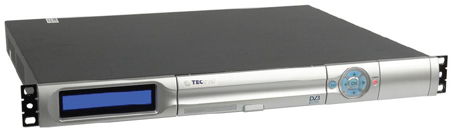 TECSYS TS 9090 HD/1Seg, Multiencoder Dual TV, H.264, SDI, TSoIP, ISDB-Tb, 1UR