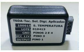 TSDA TST-001 SENSOR DE TEMPERATURA,7.5V A 28V,INTERIORES