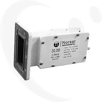 NORSAT 3120F, LNB PLL Banda C, 1ppm, 20K, Ganancia 62 dB, Banda L, F Hembra