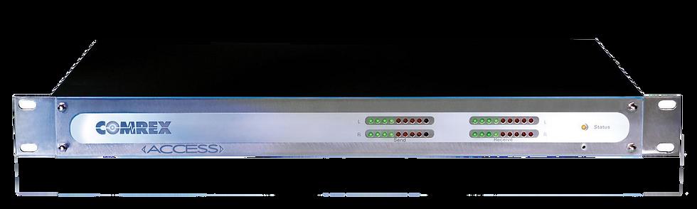 COMREX Access Rackmount, Decodificador Audio IP, LED, Ethernet, AES3, 2xUSB, 1UR