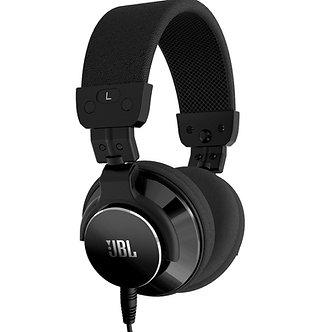 JBL BassLine, Audífonos Estéreos estilo DJ, 40 mm, 117 dB, 10 Hz-22 kHz, 20 mW
