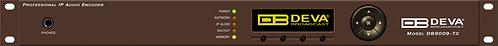 DEVA DB9009-TX, Codificador de Audio, OLED, AES/EBU, UPnP, TCP/IP, RTP, RS-232