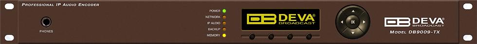 DEVA DB9009-RX, Decodificador de Audio, MPX, OLED, AES / EBU, MP3, RDS