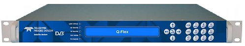 PARADISE DATACOM Q-FLEX, Modulador Sat. Digital. TX Only,Dual Band, DVBS/S2/S2X
