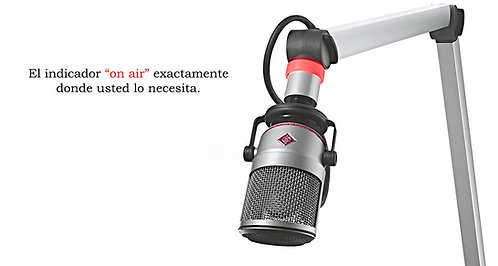 """MIKA YT3205, Brazo Articulado para Micrófono, señalización """"al aire"""", aluminio"""