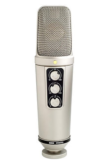 RODE NT2000, Micrófono Condensador Cardioide, 20Hz-20kHz, 200 Ohms.