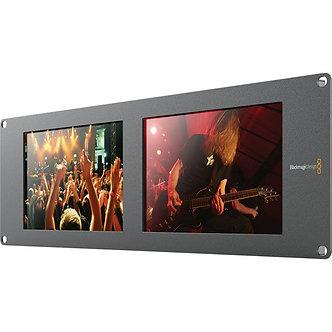 BLACKMAGIC SmartView DUO LCD, Monitor doble HD-SDI