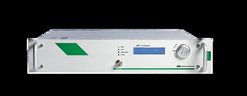 DB DRS Series, Receptor STL, MPX, 50 Ohms, LCD, 2UR