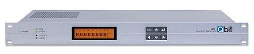 Qbit Q561-DVB AD1, Audio Encoder, ASI, TSoIP, A/D, AES/EBU, AES67, GPIO, 1UR