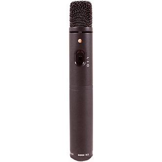 RODE M3, Micrófono Condensador Cardioide, 200 Ohms, bajo ruido, metálico, USB
