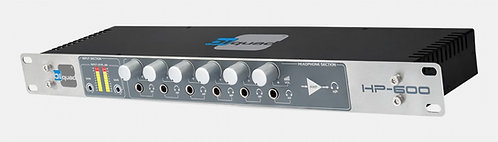 BIQUAD HP600, Distribuidor de Auriculares, 12 salidas ,Volumen Control.