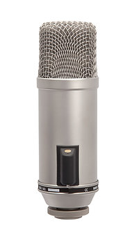 RODE Broadcaster, Micrófono Condensador de Diafragma, Cardioide, 40 Ohms, XLR