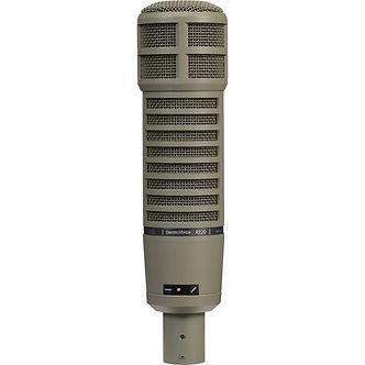 ELECTROVOICE RE20, Micrófono Dinámico Cardioide, 45 Hz-18 kHz, 150 Ohms