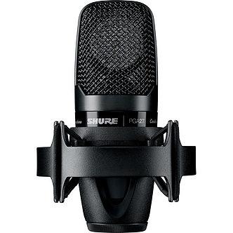SHURE PGA27-LC, Micrófono Condensador, Cardioide, 130dB SPL,115 Ohms,XLR
