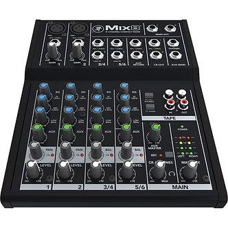 MACKIE MIX8, Consola Mezcladora de Audio, 8 canales.