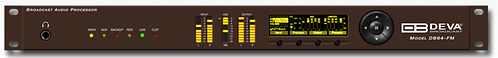 DEVA DB64-FM, Procesador Audio, 4 bandas, Encoder RDS/RBDS, AES/EBU, MPX,XLR,1UR