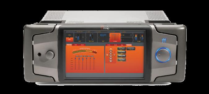 "OMNIA 11 FM, Procesador Audio, MPX, RDS, AES/EBU, Pantalla Táctil 10.5"", 4UR"