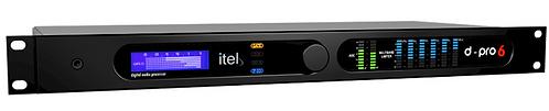 ITEL DPRO6 FM, Procesador Audio FM, 6 Bandas,MPX, RDS, AES/EBU, SPDIF, 1UR