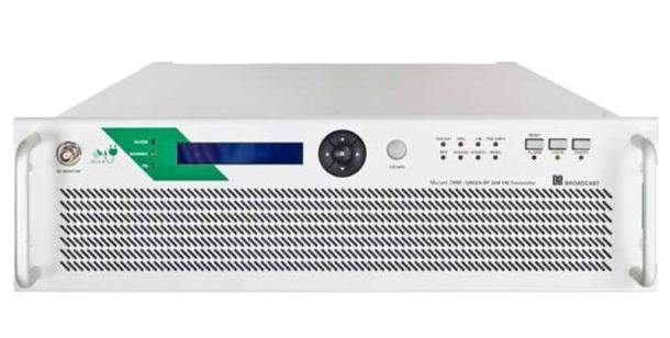 DB Mozart 3000 - 3KW - Transmisor FM