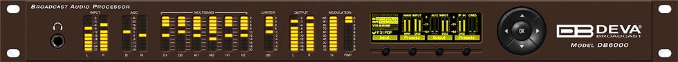 DEVA DB6000,  FM 6 bandas USB, tecnología DSP