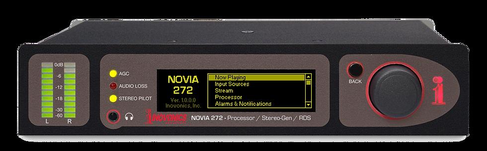 INOVONICS Novia 272, Procesador Audio FM, MPX, RDS/RBDS, GPIO, Alarma, LED