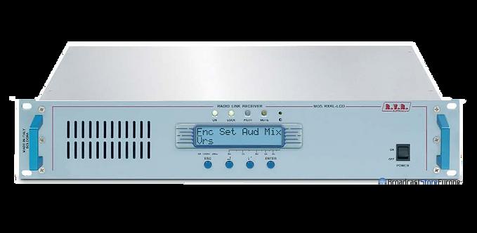 RVR RXRL-LCD, Receptor STL FM, Ágil, MPX, 20MHz, ± 1 ppm, SMD, 2UR